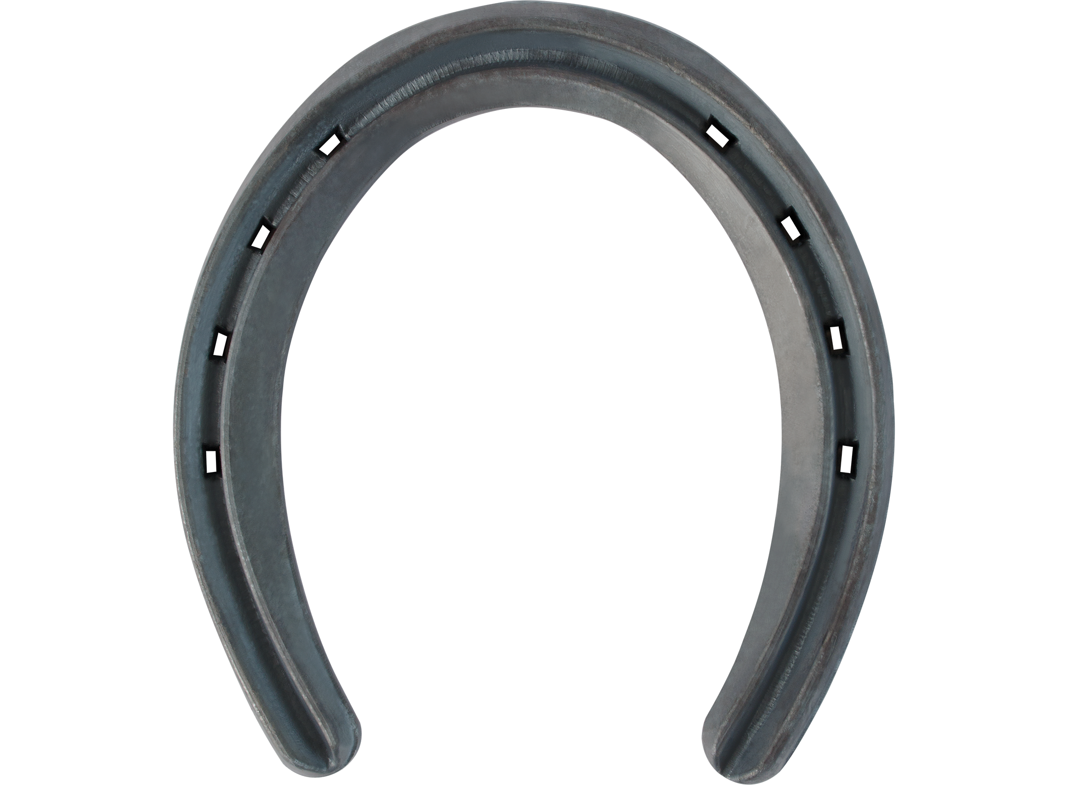 St. Croix Rim V-crease horseshoe, bottom side view