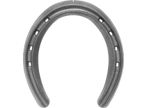 St. Croix Lite Rim horseshoe, bottom view